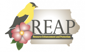 Iowa DNR Resource Enhancement and Protection program logo