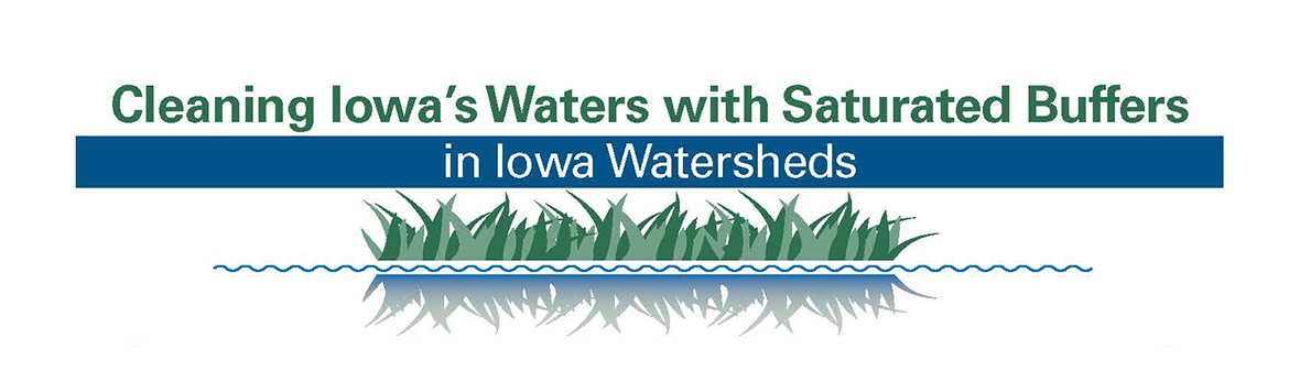 Cleaning Iowa's Waters with Saturated Buffers in Iowa Watersheds
