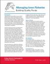 Building Quality Ponds -- Managing Iowa Fisheries